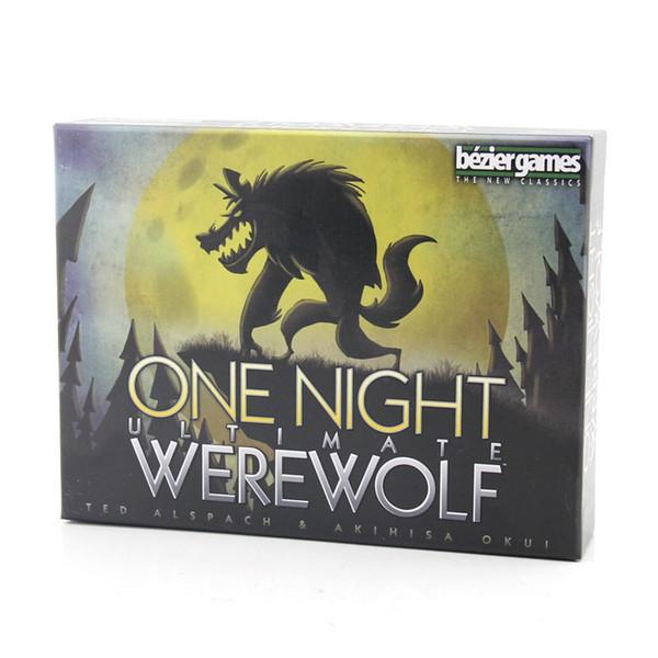 ليلة واحدة في نهاية المطاف بطاقات بالذئب