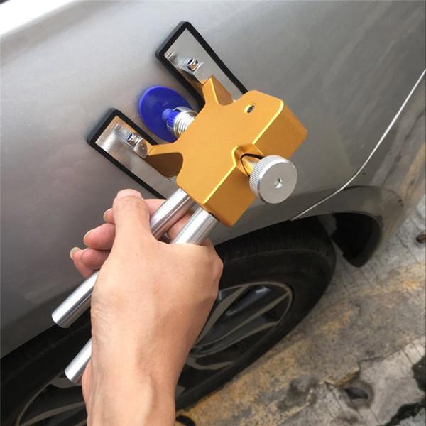 Outils de réparation de voiture outils à main Matériel pratique Carrosserie Carrosserie sans peinture Dent Lifter Repair dent puller + 18 Tabs Hail Removal Tool set