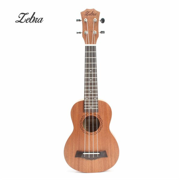 Wholesale-21 inch 15 Frets Mahogany Soprano Ukulele Guitar Sapele Rosewood 4 Strings Hawaiian Guitar Musical Instruments