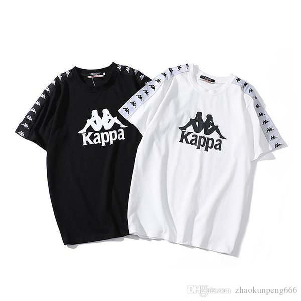 2019 new European and American men and women with the same round neck T-shirt a generation