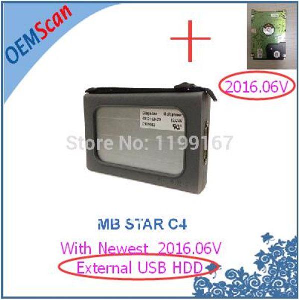 MB c4 mit USB-Festplatte
