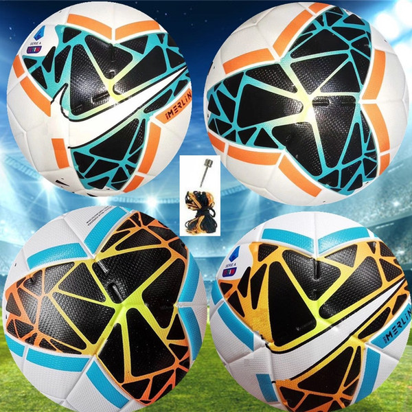 19 20 Best quality Club Serie A Soccer ball 2019 2020 size 5 balls granules slip-resistant football Free shipping high quality ball