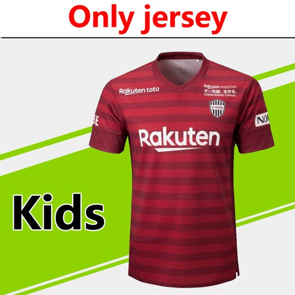 timeless design 076e8 03c00 2019 Only Jersey 2019 2020 J1 League Vissel Kobe Kids Home Soccer Jersey 19  20 J1 A.INIESTA Podolski Child Soccer Jerseys Running Jerseys From ...