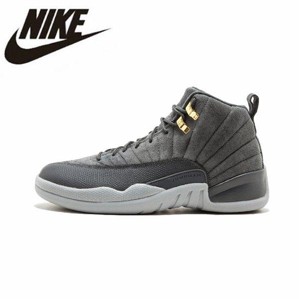 official photos e3cea b9248 2019 Authentic Nike Air Jordan Retro 12 Basketball Shoes Jordan XII Jordans  Air 12S Men Women Sneakers DB Carissa ...