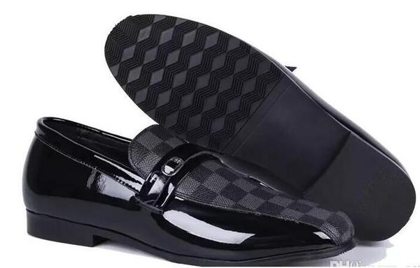 Fashion Men Leather Shoes Men Casual Shoes Oxford For Men Dress Formal Shoes Business Wedding Plus Size: EU40-47