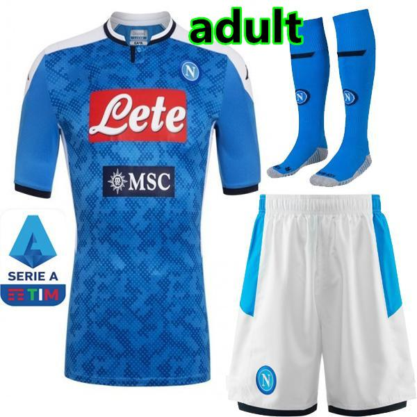 Accueil 19/20 kit adulte + Serie A Patch