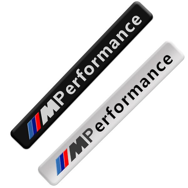 top popular Metal Labeling M Performance Car Interior Sticker For BMW M Sticker X1 X3 X4 X5 X6 X7 e46 e90 f20 Car Accessories 2021