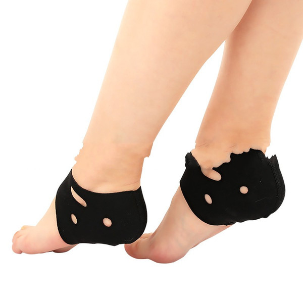 Ankle Support Foot Sleeve Yoga Training Shoe Cover Indoor Floor Male And Female Sports Fitness Non Slip Black Rubber 2 8cs C1