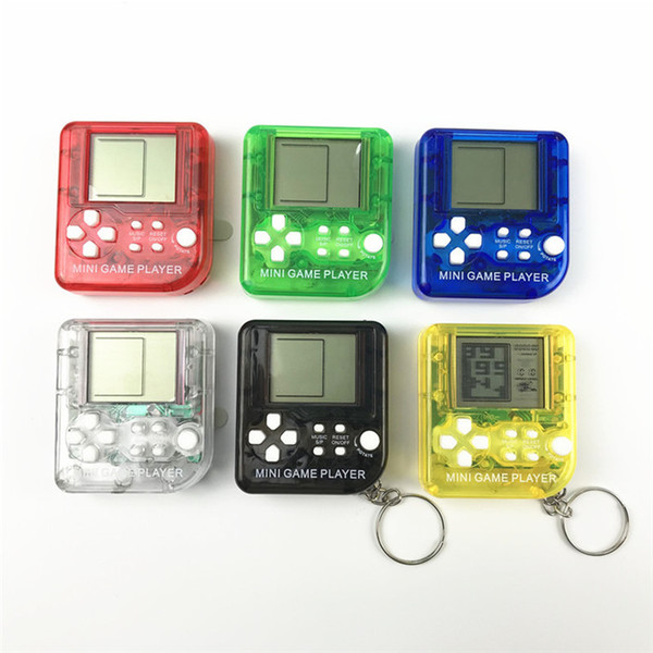 26 in 1 games Ultra-small mini Children handheld game console Portable LCD Players Children Toy Educational Electronic Toys classic Top