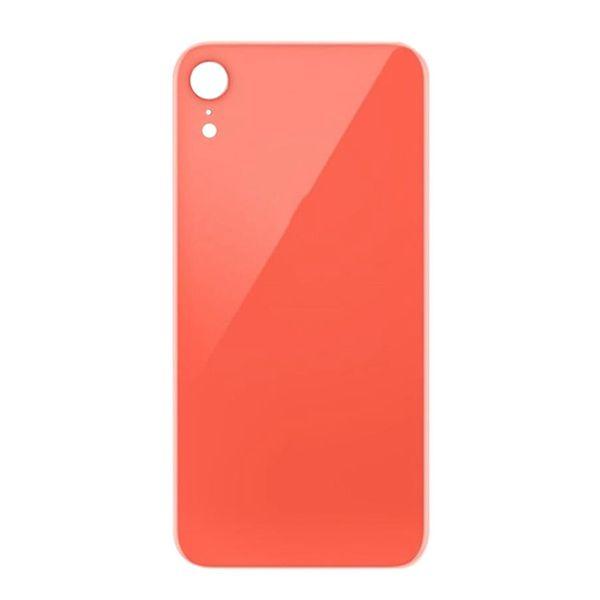 50Pcs OEM cubierta de vidrio para iPhone XR XS MAX cubierta de la batería cubierta con adhesivo adhesivo envío gratis