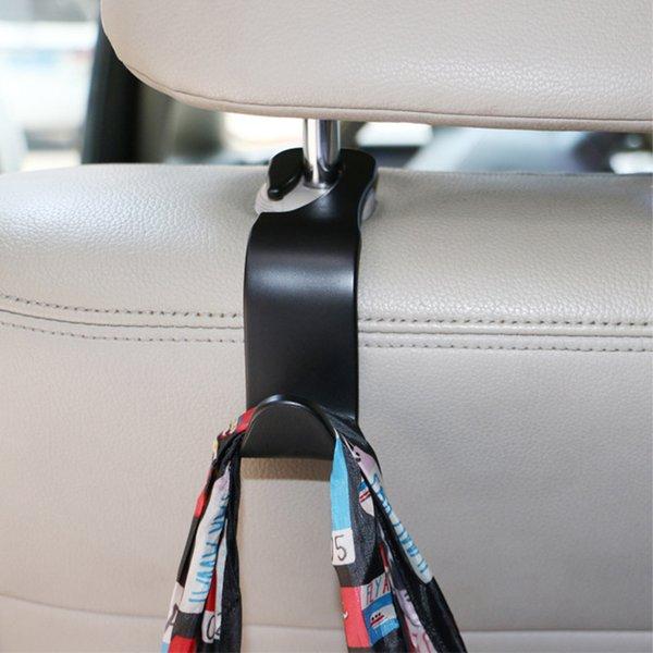 Universal Car Seat Back Hooks Hanger Organisateur Auto pour L'épicerie Coffre Manteau Sac À Main Sac Divers Crochet Appui-Tête Mont De Stockage