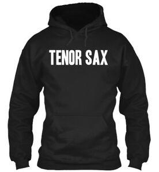 Толстовка с капюшоном Fashion Tenor Sax
