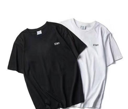 NUEVO verano Vetements letra de la impresión de manga corta camiseta de los hombres de Hiphop PERSONAL algodón de la manera Camiseta casual