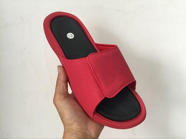 Quality 6s Hydro mens designer flip flops slippers Luxury Fashion sandals Outdoor slides Air rubber slides Size 40-47