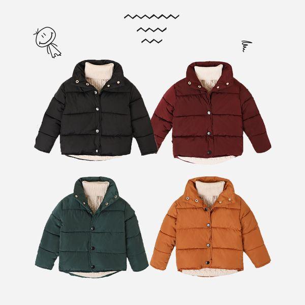 Осень зима легкий вес теплое пальто куртка дети мальчики девочки мода мягкая одежда дети Snowsuit верхняя одежда досуг костюм