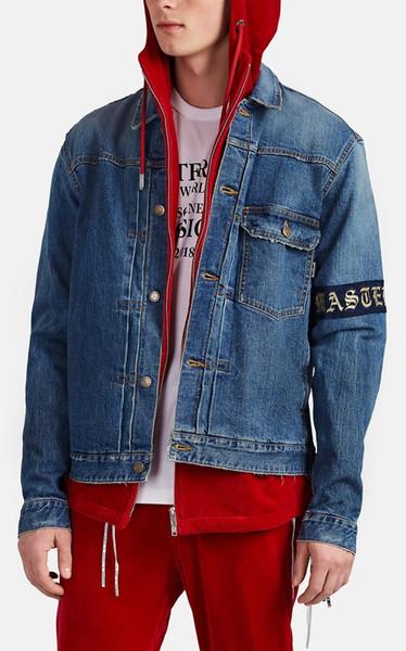 2009 venta caliente Lavar hacer de edad chaqueta de Jean moda de alta gama Calle Ventilador Ocio Hip-Hop Jean Jacket