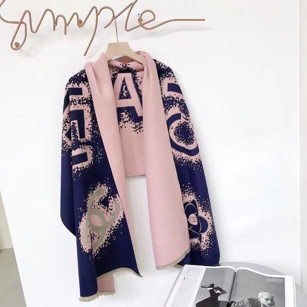 New Arrival Designer Scarfs ScarfShawls Brand Famous Designer Cashmere Autumn Winter Style Womens Scarves Wraps Size180x70cm TM30