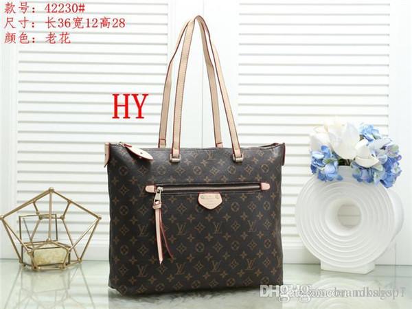 2019 новых стилей сумки Известные Имя Мода кожаные сумки Tote женщин сумки плеча леди кожаные сумки сумки кошелек G423 СУМКИ