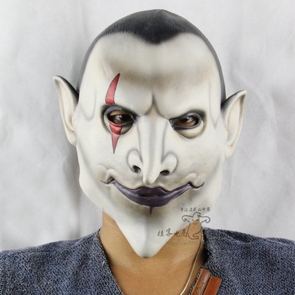 Nueva máscara de fiesta para adultos calientes Máscara de horror de Hellman Earl Disfraz de Halloween disfrazarse de un horror especial