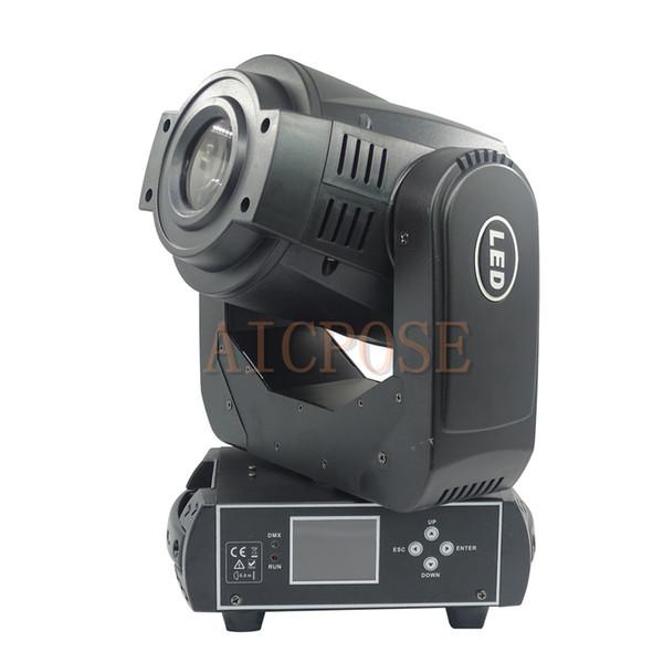 Luz de cabeza móvil LED de 90 W con luz de punto de prisma de 3 caras con función de gobo de rotación para DJ Disco Boda Efecto de escenario Boda