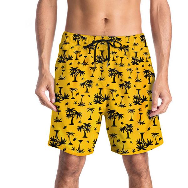 Verão Mens Designer Shorts Marca de Moda Calças Curtas com Impressão Nova Praia Shorts Tamanho Grande de Secagem Rápida-Casual Shorts M-2XL Atacado