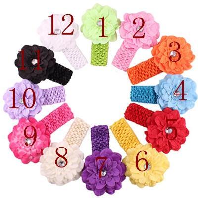 Children's headband baby hair band baby eco-friendly knit headband multi-color baby knit hair band