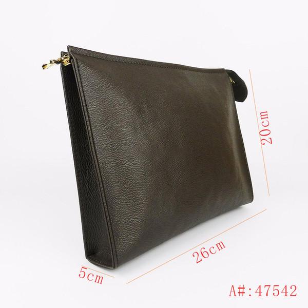 Luxury Handbag Designer bolsas Designer bolsas Carteira carta Flor do café preto rede 47542 61692 com built-in slot para cartão
