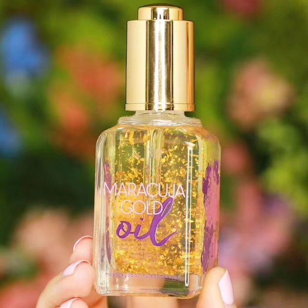 Brand New Cosmetic Maracuja Gold Oil 50ML Skin Enhancing Essential Serum Natural Moisturizing Golden Face Hydrating Primer Gel Free Shipping