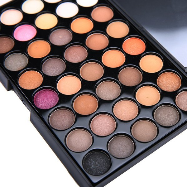 Factory 40 Color EyeShadow Fashion Palette Diamond Smoked Hot Eye Primer Luminous Women Makeup Cosmetics Best Gift With Free Drop Shipping