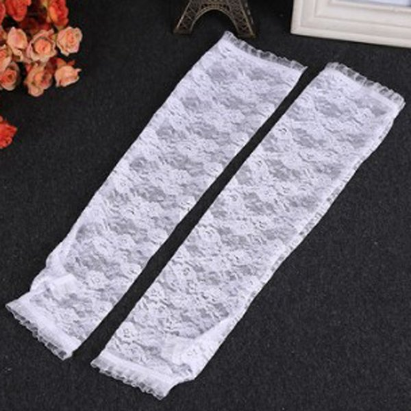 2019 Accessories Driving Gloves Accessory Faddish Supplies Lace Scar Covers Latest Summer Arm Sleeves
