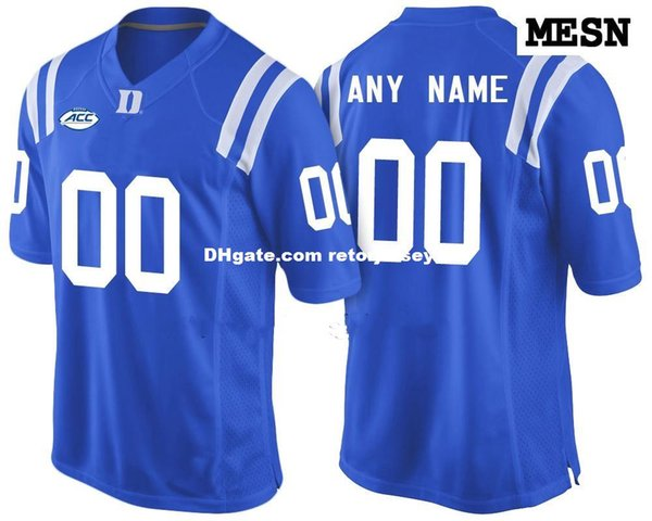 quality design b08fa f6dfe 2019 Cheap Custom Duke Blue Devils College Jersey Mens Women Youth Kid  Personalized Any Number Of Any Name Stitched Blue Football Jerseys From ...