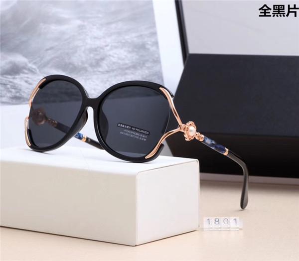 Gafas de sol ovaladas de moda de alta calidad para hombres y mujeres Diseñador de la marca Vintage Gafas de sol Gafas Sombras Oculos con estuche y estuche gratis