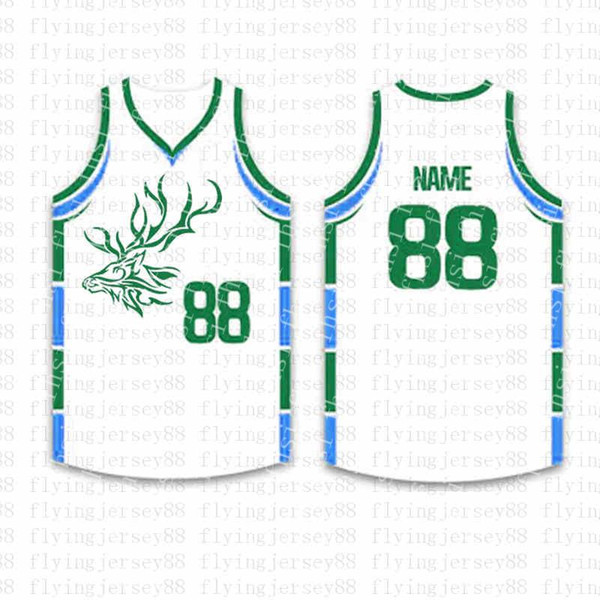 Top Personnalisé Basketball Maillots Broderie Logos Jersey Maillots Livraison Gratuite en Gros Pas Cher n'importe quel Numéro Taille S-XXL jps8