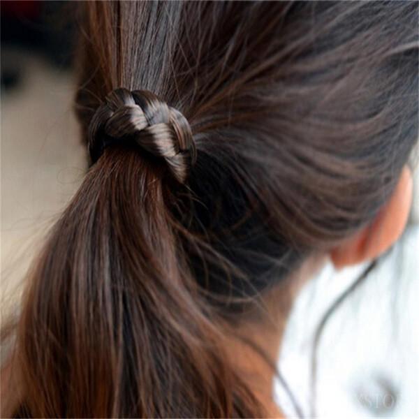 1 pz Hairhands Prezzo economico Moda donna Elasticità Parrucca raffinatezza Fascia per capelli Stretch Head Accessori per capelli per mani * 40