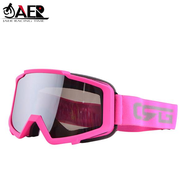 JAER Brand 100% Motocross Motorcycle Goggles ATV Off Road Dirt Bike DustProof Racing Glasses Anti Wind Eyewear MX Goggles