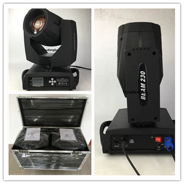 4 pieces with flightcase beam 7r 230w gobos stage beam sharpie moving lights moving head 7r