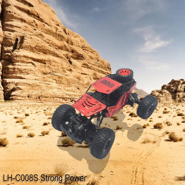 LH-C008S 2.4GHz Strong Power RC Car Off-road Rock Climbing Crawler Automatic Vehicle Toys Car for Children Gift