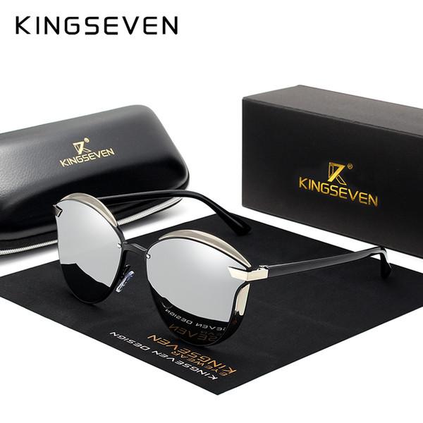Markendesign Katzenauge Zonnebril Vrouwen Gepolariseerde Luxe Aluminiumrahmen + Tr90 Zonnebril Mode Retro Oculos De Sol Gafas