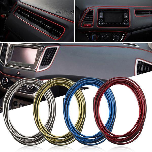 Car Interior Decoration Moulding Trim Strips For Lada Granta Vaz Kalina Priora Niva Samara 2 2110 Largus 2107 2106 4x4 2114 2112