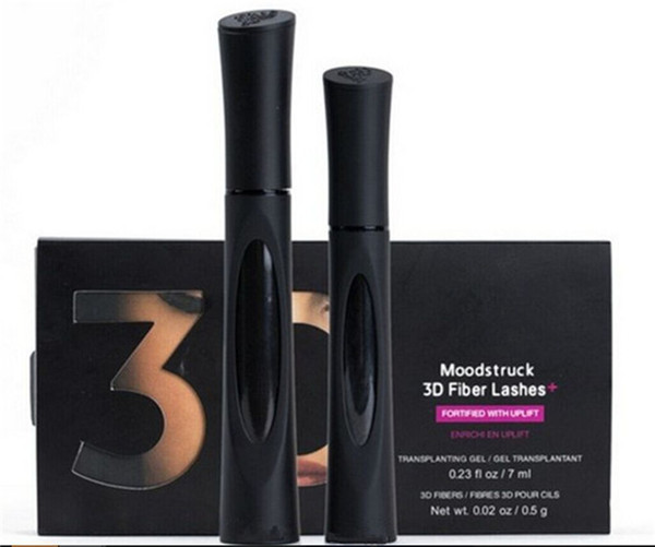 best selling 3D Fiber Lashes Mascara Waterproof Double 1030 version 3D FIBER LASHES Eyelash Makeup Set 1set=2pcs free shipping