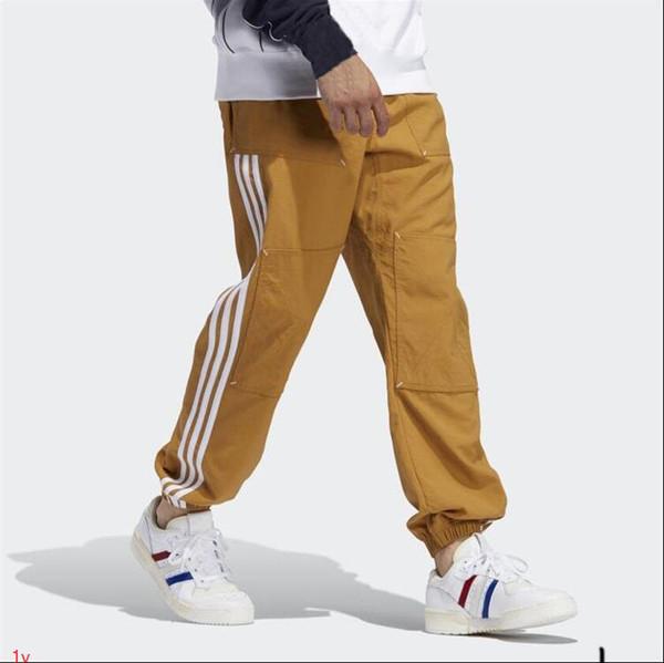 Hommes Designer Pantalons athlétiques Joggers élastique Pantalons Gym Mens Designer Zippers poches pantalons Elasticité Joggings luxe Pantalon taille 2XL # AR1