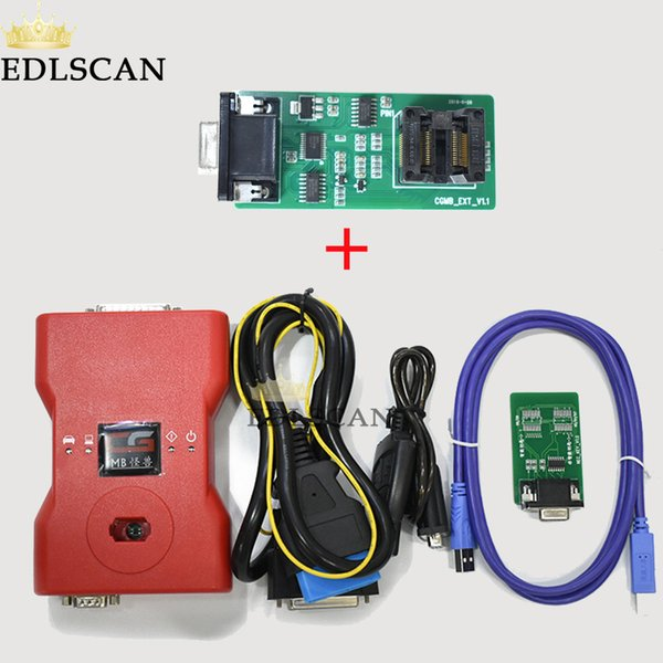 Standard CGDI Pro MB Key Programmer Kit with extra ELV adapter support MB All Key Lost with 2 free token each day