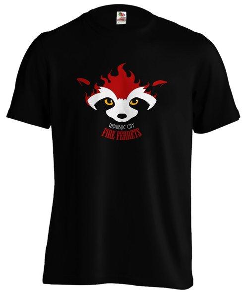 Leyenda de Korra Avatar Fire Ferret Republic City Anime camiseta TeeFunny envío gratis Unisex Casual camiseta
