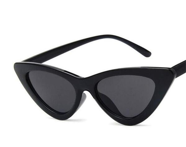 Новейшее кредо Очки в оправе Ретро-очки в форме треугольника Cat Eye Солнцезащитные очки малого размера с рамкой 9 опциональные стили бесплатная доставка.