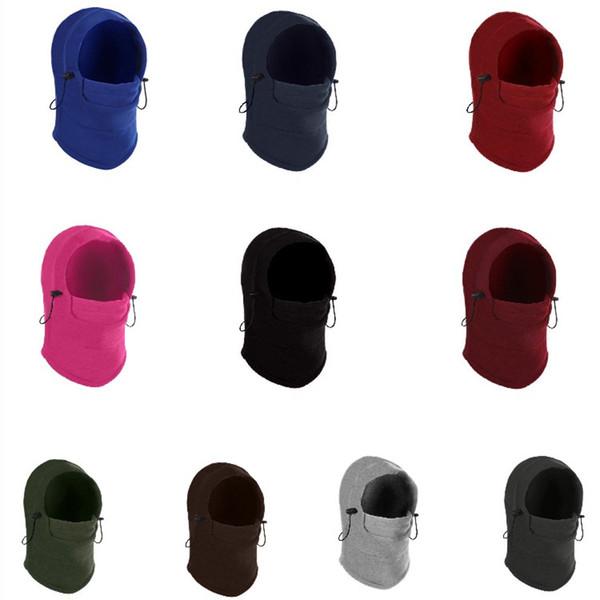 Открытый шапки унисекс респиратор теплый Баракра шляпа тактическая Маска крышка головы утолщаются зимние лыжи езда на велосипеде череп уха муфты T2C5081