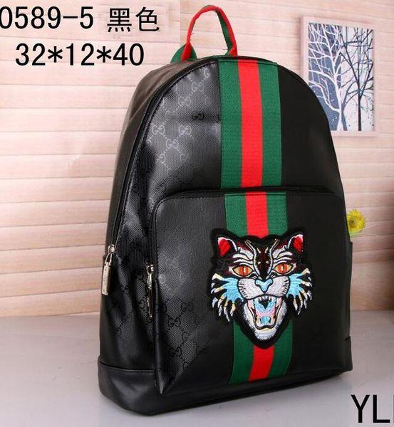 top popular 2019 women men backpacks fashion backpack shoulder bag luggage travel bag Purse 45 colors bags 662 2020