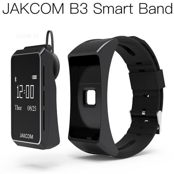 Reloj elegante JAKCOM B3 venta caliente en pulseras inteligentes como el vídeo xx barco mp3 bot cometa