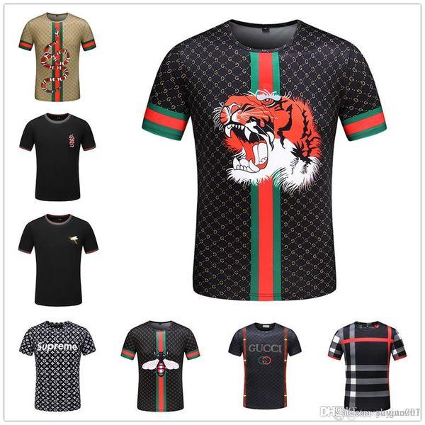 IDUZI Dabbing Men's T-shirts Animal Pug Print Hipster Funny T shirt Men Short Sleeve Casual Street Hip-hop Tee shirt Male Tops