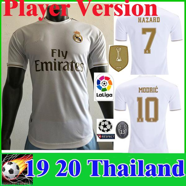 DANGER Version de joueur Maillots de football 19 20 Real Madrid JOVIC MILITAO Coupe du football 2019 2020 VINICIUS Maillot de foot camisa de futebol