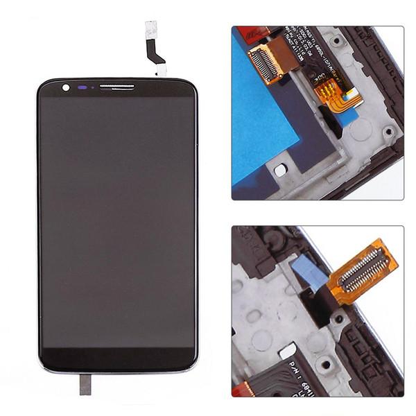 5,2 дюйма для LG G2 D800 D802 ЖК-дисплей с сенсорным экраном + дигитайзер в сборе для LG G2 LCD с рамкой
